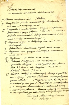 Archiwum miasteczek i wsi pow. sanockiego, leskiego, ustrzyckiego. Kwestionariusze z badania środowiska : Mokre