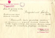 Archiwum miasteczek i wsi pow. sanockiego, leskiego, ustrzyckiego. Kwestionariusze z badania środowiska : Odrzechowa