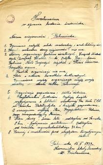 Archiwum miasteczek i wsi pow. sanockiego, leskiego, ustrzyckiego. Kwestionariusze z badania środowiska : Pakoszówka