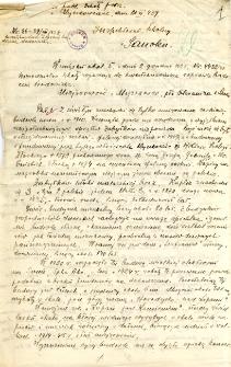 Archiwum miasteczek i wsi pow. sanockiego, leskiego, ustrzyckiego. Kwestionariusze z badania środowiska : Myczkowce