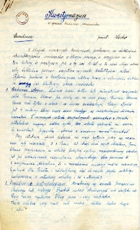 Kwestionariusze z badania środowiska : Serednica