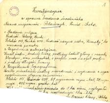 Archiwum miasteczek i wsi pow. sanockiego, leskiego, ustrzyckiego. Kwestionariusze z badania środowiska : Polańczyk