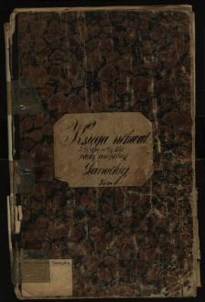 Księga uchwał Rady miejskiej Sanockiej 14.3.1867-31.7.1868. T. I