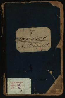 Księga uchwał Rady miejskiej od lutego 1874 do stycznia 1876. T.V