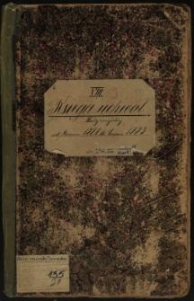 Księga uchwał Rady miejskiej od czerwca 1881 do sierpnia 1883. T. VIII