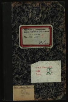 Protokoły z posiedzeń Rady Miejskiej m. Sanoka 29.7.1890-28.12.1891