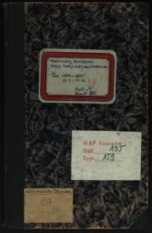 Protokoły posiedzeń Rady Miejskiej m. Sanoka 17.1.1894-17.10.1895
