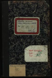 Protokoły posiedzeń Rady Miejskiej m. Sanoka 9.1.1896-16.12.1897