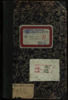 Protokoły posiedzeń Rady Miejskiej m. Sanoka. Rok 1903 (15.1)-1904 (28.12)