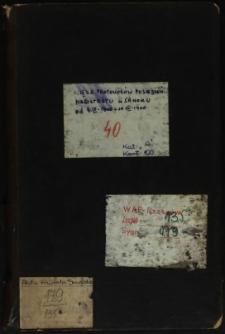 Księga protokołów posiedzeń Magistratu w Sanoku od 4 IV 1900-10.12.1900