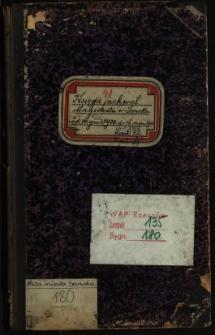 Księga uchwał Magistratu w Sanoku od 10 grud. 1900 do 16 sierpn. 1901