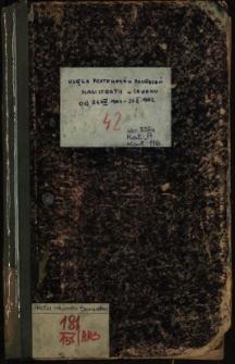 Księga protokołów posiedzeń Magistratu w Sanoku od 21.VIII.1901-21.X.1902
