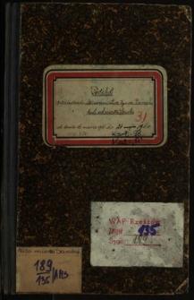 Protokół posiedzenia kierownictwa tymcz. Zarządu król. wol. miasta Sanoka od dnia 16 marca 1910 do 24 maja 1911