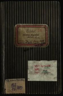 Protokół posiedzeń Magistratu król. wol. m. Sanoka od dnia 22.VII.1914 do 1.V.1918, z przerwą z powodu inwazji od 14.9.1914 do 1.XII 1915
