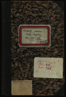 Protokoły posiedzeń Rady Miejskiej. Rok 5.1.1927-27.12.1928