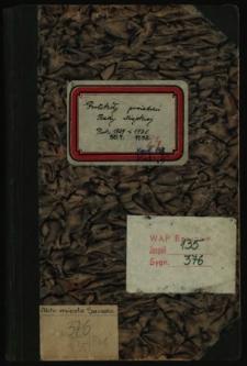 Protokoły posiedzeń Rady Miejskiej. Rok 30.1.1929-11.12.1930