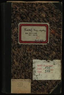 Protokoły Rady Miejskiej. Rok 26.1.1931-20.12.1932