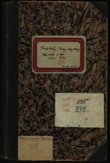 Protokoły Rady Miejskiej. Rok. 23.1.1933-19.12.1934
