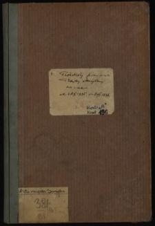 Protokoły posiedzeń Rady Miejskiej za czas od 21 II 1935 do 9 VII 1936