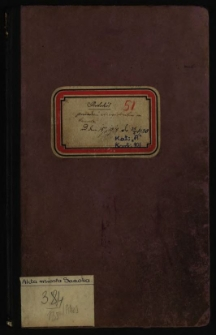 Protokół posiedzeń Magistratu m. Sanoka od dnia 15/5 1918 do 26 4 1920