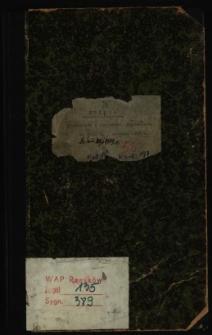 Księga protokołów z posiedzeń Magistratu od dnia 9 listopada 1927 do dnia 28/6 1929 r.