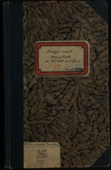 Księga uchwał Magistratu od 23 I 1935 do 8.VI.1936
