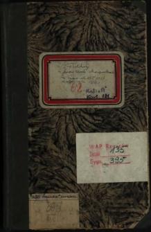 Protokoły posiedzeń Magistratu za czas od 27 X 1938 do 14 października 1939 r.