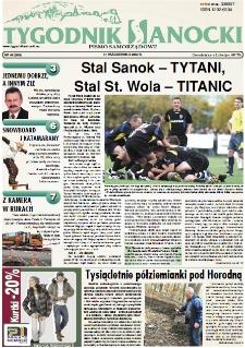 Tygodnik Sanocki, 2008, nr 44