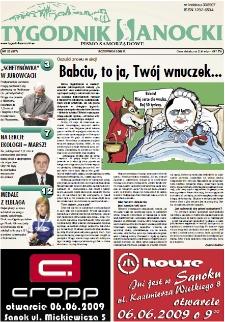 Tygodnik Sanocki, 2009, nr 23