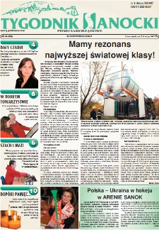 Tygodnik Sanocki, 2009, nr 44