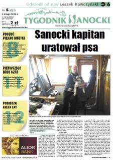 Tygodnik Sanocki, 2010, nr 5