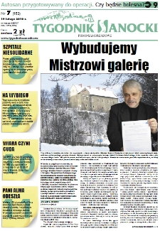 Tygodnik Sanocki, 2010, nr 7