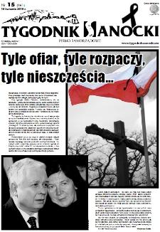Tygodnik Sanocki, 2010, nr 15