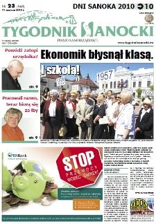 Tygodnik Sanocki, 2010, nr 23