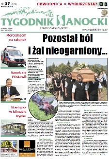 Tygodnik Sanocki, 2010, nr 27