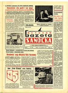 "Gazeta Sanocka ""Autosan"", 1979, nr 10-12"