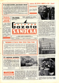 "Gazeta Sanocka ""Autosan"", 1979, nr 13, 15"