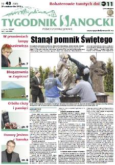 Tygodnik Sanocki, 2010, nr 43