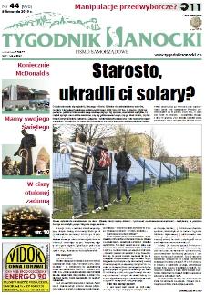 Tygodnik Sanocki, 2010, nr 44