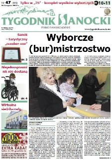 Tygodnik Sanocki, 2010, nr 47