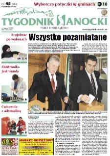 Tygodnik Sanocki, 2010, nr 48