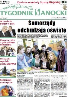 Tygodnik Sanocki, 2011, nr 10