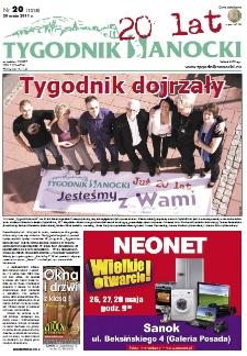 Tygodnik Sanocki, 2011, nr 20