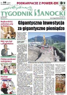 Tygodnik Sanocki, 2011, nr 33