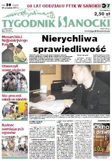 Tygodnik Sanocki, 2011, nr 39