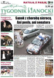Tygodnik Sanocki, 2011, nr 41