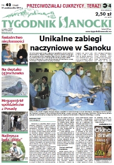 Tygodnik Sanocki, 2011, nr 42