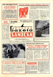 "Gazeta Sanocka ""Autosan"", 1979, nr 31-33"