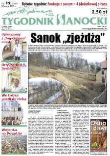 Tygodnik Sanocki, 2012, nr 12