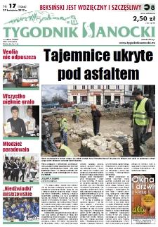 Tygodnik Sanocki, 2012, nr 17
